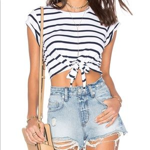 Lovers and friends the abigail top